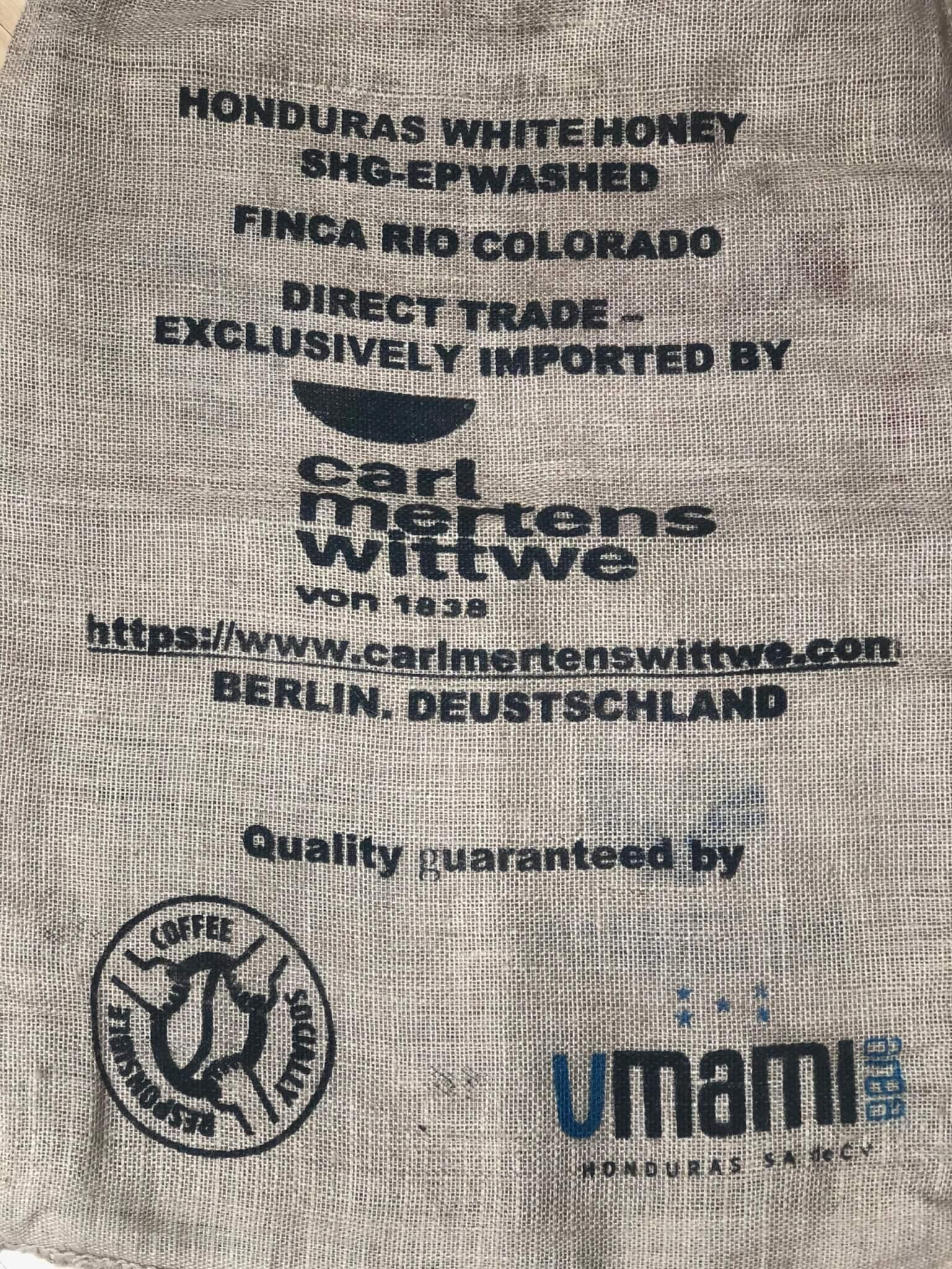 Kaffeesack Carl Mertens Wittwe
